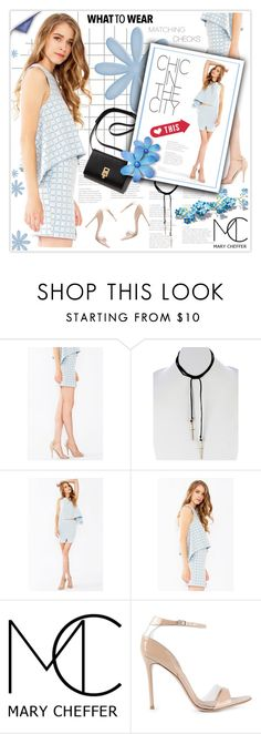 """""""Check Mates"""" by mcheffer ❤ liked on Polyvore featuring Gianvito Rossi"""