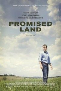 Promised Land is rated 'R', but it's a very soft 'R'. I'd almost be inclined to show it to students in geology class. Or ethics class. Or business class. It's sort of Erin Brockovich meets An Inconvenient Truth. Click thru for full review.