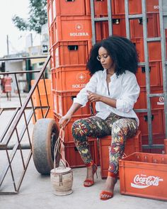 Kinky Curly Hair, Curly Hair Styles, Natural Hair Styles, Hair Icon, Transitioning Hairstyles, Mode Chic, Summer Fashions, Natural Hair Inspiration, Natural Hair Journey