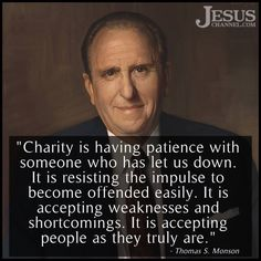 Charity - the love of Christ