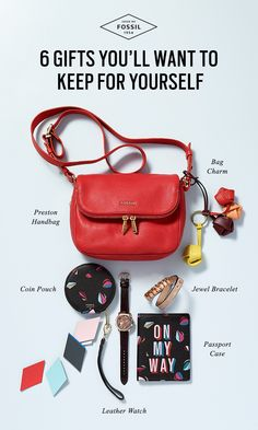 Does your holiday outfit need extra trimming? We have you covered from head to (mistle)toe with these 6 gift ideas you'll want to keep for yourself.