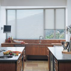 Luxaflex Silhouette Shadings, Kitchen Blinds Solutions