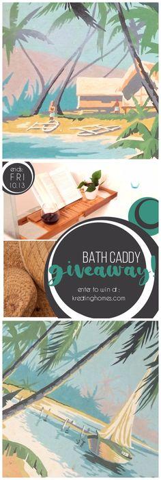 Bath Caddy Giveaway