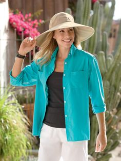 Women's Versatile Shirt Melanoma stinks!  SPF Clothing is a great invention
