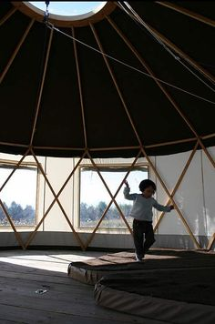 Yurta: The Optimized Yurt : TreeHugger
