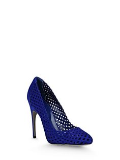 Sergio Rossi - UNCOVERED - A57721MCAZ011104578 - Pumps - Pumps. Sueded, Leather sole. Composition: 100% Lambskin Heel height:�4.1�Inches Made In Italy