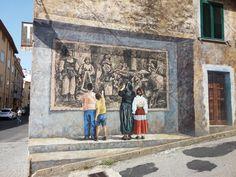 Murale di Fonni.  Autore: Mauro Angiargiu