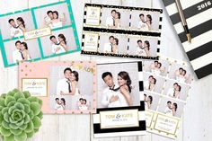 Inspired Template - Multiple Photobooth Layout, Photobooth Template, Family Reunion Photos, Diy Photo Booth, Photo Booths, Gothic Images, Image Layout, Photoshop Elements, New Fonts