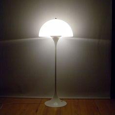 Panthella floor lamp by Verner Panton for Louis Poulsen. #allgoodthings #danish spotted by @missdesignsays