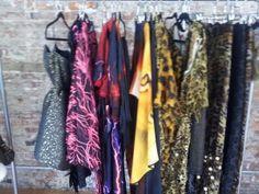 Skair Blue Media Showroom. Carmelita Couture line made in USA.