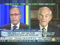 Ron Paul on Larry Kudlow / CNBC 8/30/11