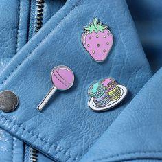 Lollipop esmalte Pin / / pin de comida pin de solapa por Punkypins