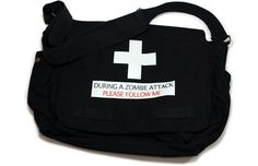 Zombie Attack Messenger Bag *Last Chance*