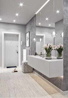 Modern Home Decor To Copy Today ? 46 Modern Home Decor To Copy Today ? 46 Modern Home Decor To Copy Today Baths Interior, Bathroom Interior, Home Interior, Interior Decorating, Interior Design, Decorating Ideas, Interior Modern, Midcentury Modern, Beautiful Modern Homes