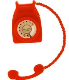 Telephone Small Brooch £47 (sale £23.50) - SS09 Leisure Pursuits Tatty Devine, Telephone, Landline Phone, Brooches, Archive, Dress, Accessories, Dresses, Phone