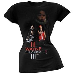 From beautiful baby to handsome hottie, Lil Wayne goes through some changes on this black, cotton juniors t-shirt. Bob Marley Exodus, Lil Wayne, High Quality T Shirts, Beautiful Babies, Zip Hoodie, Handsome, Hoodies, Cotton, Clothes