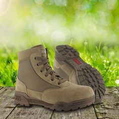 Comfortable and lightweight Magnum Classic Mid Boots come with durable Suede and 1150D Nylon upper, fast wicking Cambrelle lining, EVA midsole, padded foam Suede collar and inner mesh tongue, strong rustproof hardware, and high traction slip and oil resistant outsole. Perfect for everyday wear, hiking, Airsoft or hunting. Only £60.00! Find out more at Military 1st online store. Free UK delivery and returns.