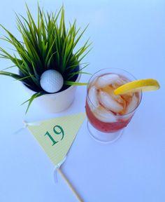 Pieza central bandera Golf hoyo 19
