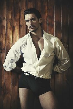 David Gandy for L'Officiel Hommes...