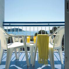 Balcón de la Habitación Doble #h10playasdemallorca #playasdemallorca #h10 #h10hotels