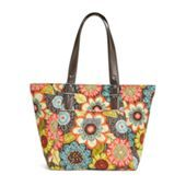 Yes please!!! Be Colorful Tote in Flower Shower | Vera Bradley