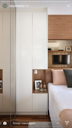 Small Apartment Design, Small Room Design, Home Room Design, Apartment Interior, Wardrobe Design Bedroom, Bedroom Closet Design, Bedroom Decor, Fitted Bedroom Furniture, Fitted Bedrooms