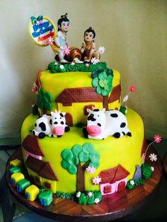 Bal Gopal Cake #indian #indiancake #cake #desi #krishna