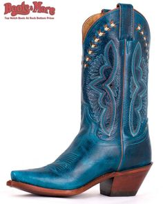 Justin Ladies Fashion Turquoise Damiana [L4302] - $149.99 : Boots & More: Top Notch Boots at Rock Bottom Prices, We Price Match #boots #justin