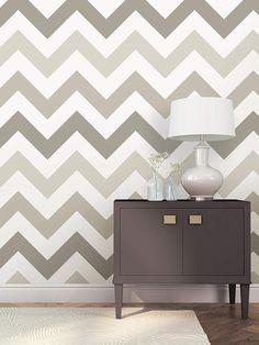 Wallpaper Roll or Sample Dandelion Greyscale Mid Century Modern Minimalist