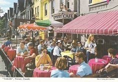 Toronto 1970s. Yorkville was such a happening place back in the 60's. But by the early 70's, Yorkville was losing its identity as the centre for hippie culture & was becoming an upscale kind of place...