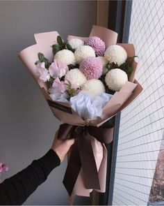 Flower power inspiration for you today! Like and comment below🌷🌷 ⠀ ⠀ Bouquet by ⠀ ⠀ ⠀ Beautiful Flower Arrangements, My Flower, Floral Arrangements, Beautiful Flowers, Hand Bouquet, Flower Aesthetic, Flower Boxes, Floral Bouquets, Floral Flowers
