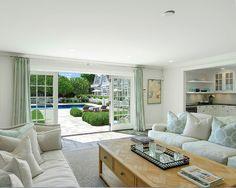 Pool House Interiors. Beautifully designed pool house. #PoolHouseInteriors #Interiors #HomeDecor