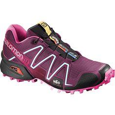 5c78b3f3b57 Salomon Womens Speedcross 3 Bordeaux/Hot Pink/Lotus Pink 11 B Medium Review  https