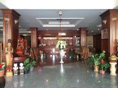 Vientiane Angkham Hotel Laos, Asia Angkham Hotel is conveniently located in the popular Xaysetha area. Both business travelers and tourists can enjoy the hotel's facilities and services. Facilities like free Wi-Fi in all rooms, Wi-Fi in public areas, car park, room service, airport transfer are readily available for you to enjoy. Each guestroom is elegantly furnished and equipped with handy amenities. Take a break from a long day and make use of fitness center, indoor pool. No...