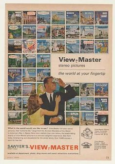 Sawyer's View-Master Stereo Picture World (1962)