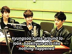 Beakhyun gif   sigh exo exo k babies IT'S SO CUTE Kyungsoo baekhyun suho d.o ...