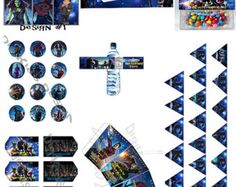 Guardians of The Galaxy Personalized Birthday Party Printable Pack (DIY)