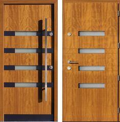 Drzwi wejściowe do domu z katalogu inox wzór 423,1-500C