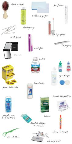 A Bride's Emergency Kit via One Hitched Lane #wedding