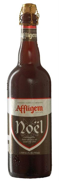 Cerveja Affligem Noël, estilo Christmas/Winter Specialty Spiced Beer, produzida por Brouwerij Affligem / De Smedt, Bélgica. 9% ABV de álcool.