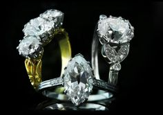 There is Magic in owning a piece of Vintage jewelry, one-of-a-kind engagement rings, to timepieces, cuff-links, we have the most exquisite timeless pieces Diamond Earrings, Vintage Jewelry, Cufflinks, Magic, Engagement Rings, Accessories, Fashion, Diamond Studs, Rings For Engagement