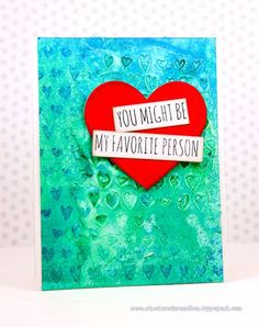 Such a Fun card by Cheiron for the Simon Says Stamp Wednesday challenge (Add a Little Texture)