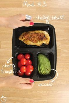 7 Days Of Healthy Meal Prep Ideas - Ready To Eat Meals and Protein On The Go With The Best Meal Containers - chicken breast recipe