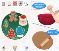 App Review of the Week: Cookie Doodle - pinned by @PediaStaff – Please Visit ht.ly/63sNtfor all our pediatric therapy pins