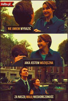 #gwiazdnaszychwina #thefaultinourstars #cytaty #film #kino #cytatyfilmowe #popolsku #helter #polskie The Fault In Our Stars, John Green, Fandoms, Movies, Movie Posters, Films, Tfios, Film Poster, Cinema