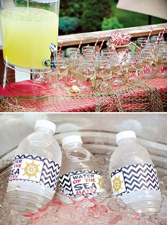 Shipwreck Inspired Backyard Pirate Party // Hostess with the Mostess®