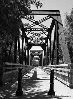 Old Railroad Bridge - Winters CA