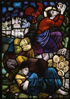 Gethsemane or The Agony in the Garden. Glassmaker: Osmund Caine