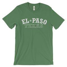 El Paso Texas Vintage Unisex short sleeve t-shirt