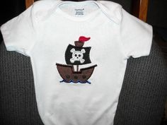 Pirate Ship Onesie